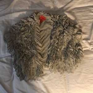 Other - Grey shrug size small